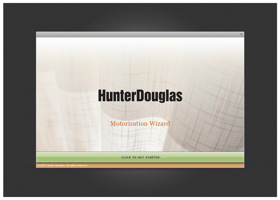 Hunter Douglas Web App MooseDesign